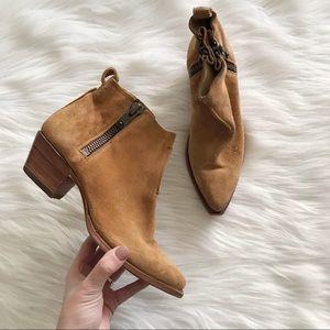 FRYE Sacha Moto Shortie Ankle Boot SZ 7